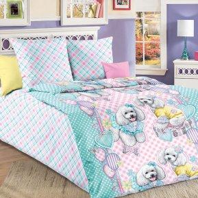 «Красотки №2» 1,5 - спальное постельное белье, БЯЗЬ, Текс-Дизайн