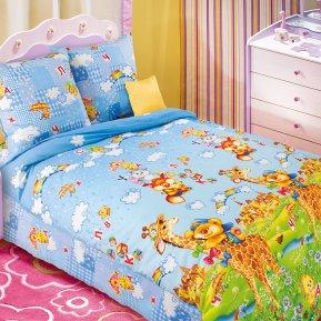 «Лето» 1,5 - спальное постельное белье, БЯЗЬ, Текс-Дизайн