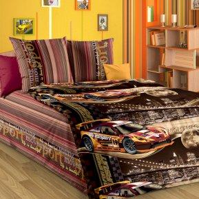 «Неон (кор.)» 1,5 - спальное постельное белье, БЯЗЬ, Текс-Дизайн
