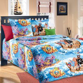 «Пираты №2» 1,5 - спальное постельное белье, БЯЗЬ, Текс-Дизайн