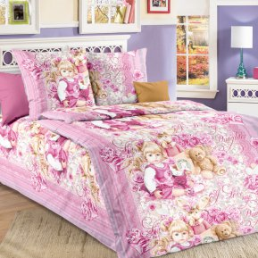 «Сьюзи» 1,5 - спальное постельное белье, БЯЗЬ, Текс-Дизайн