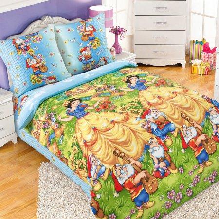 «Сказочный лес» 1,5 - спальное постельное белье, Бязь, Текс-Дизайн