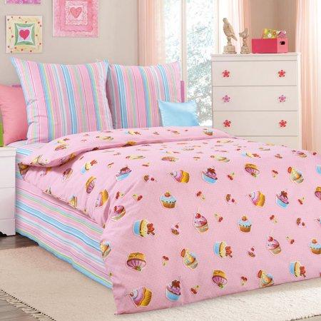 «Сластена» 1,5 - спальное постельное белье, Бязь, Текс-Дизайн