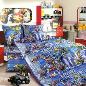 «Трансформеры №2» 1,5 - спальное постельное белье, БЯЗЬ, Текс-Дизайн