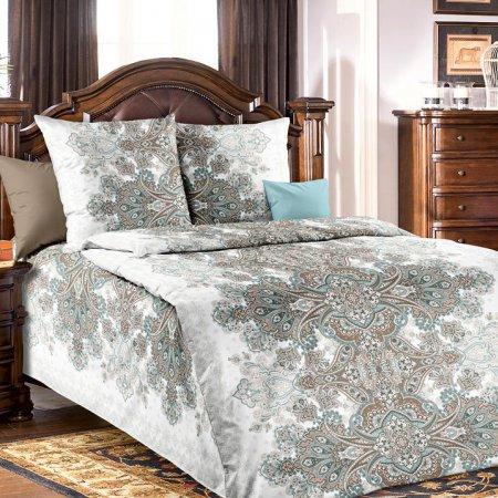 Постельное белье «Изабелла» 1,5 - спальное №2 (на резинке), Бязь, Текс-Дизайн