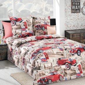 «Ретро» 1,5 - спальное постельное белье, БЯЗЬ, Текс-Дизайн
