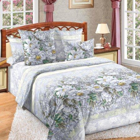 Постельное белье «Анжелика» двуспальное с европростыней, Бязь, Текс-Дизайн