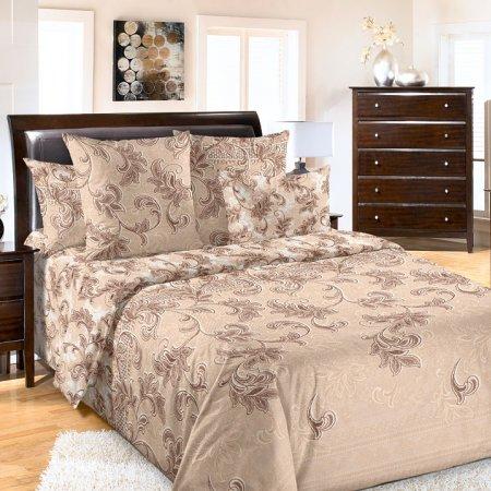 Постельное белье «Санта-Мария №2» 1,5 - спальное (на резинке), Бязь, Текс-Дизайн