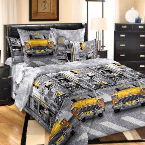 «Такси» семейное постельное белье, БЯЗЬ, Текс-Дизайн