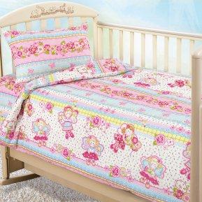 «Агата» дет. кроватка постельное белье, БЯЗЬ, Текс-Дизайн