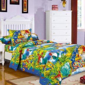 «Гномики» дет. кроватка постельное белье, БЯЗЬ, Текс-Дизайн