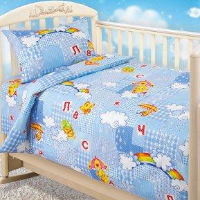 «Радуга» дет. кроватка постельное белье, БЯЗЬ, Текс-Дизайн