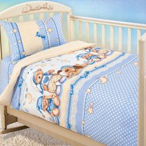 «Нежный сон» дет. кроватка постельное белье, БЯЗЬ, Текс-Дизайн