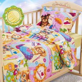 «Модники» дет. кроватка на резинке постельное белье, БЯЗЬ, Текс-Дизайн