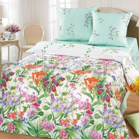 «Цветочная фантазия» семейное постельное белье, Бязь, Арт Дизайн