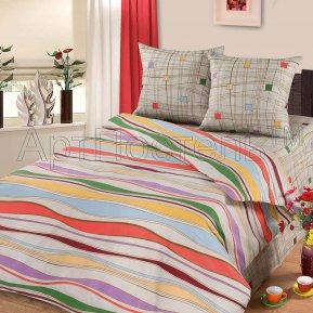 «Волна» семейное постельное белье, БЯЗЬ, Арт Дизайн