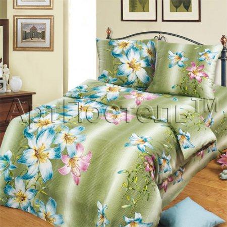 «Афродита» 1,5 - спальное постельное белье, Бязь, Арт Дизайн