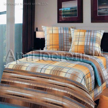 Постельное белье «Айвенго» двуспальное с европростыней, Бязь, Арт Дизайн