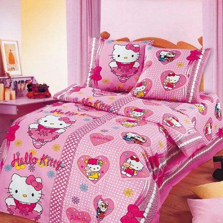 «Бантики» 1,5 - спальное постельное белье, Бязь, Арт Дизайн
