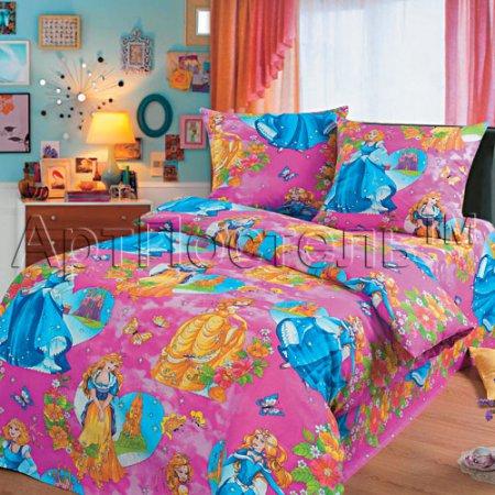 «Царевна» 1,5 - спальное постельное белье, Бязь, Арт Дизайн