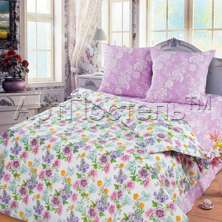 Постельное белье «Цветные сны» семейное, Бязь, Арт Дизайн