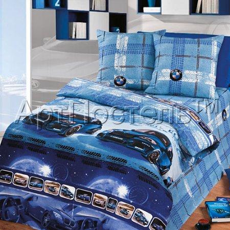 «Драйв» 1,5 - спальное постельное белье, Бязь, Арт Дизайн