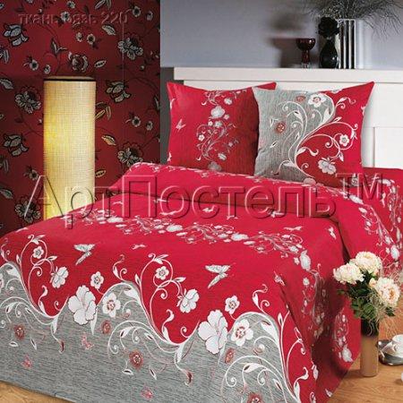 Постельное белье «Элегия» 1,5 - спальное, Бязь, Арт Дизайн