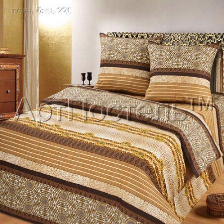 «Этнические мотивы» двуспальное постельное белье, Бязь, Арт Дизайн