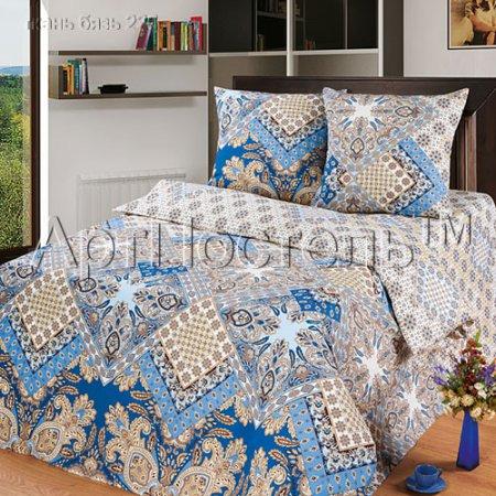 «Флоренция» двуспальное постельное белье, Бязь, Арт Дизайн
