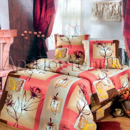 Постельное белье «Графика» 1,5 - спальное, Бязь, Арт Дизайн