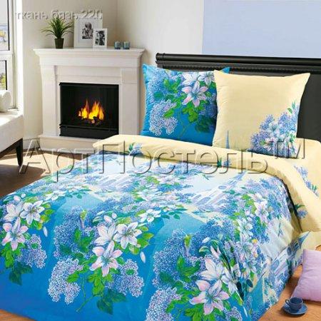 «Графский парк» двуспальное с европростыней постельное белье, Бязь, Арт Дизайн