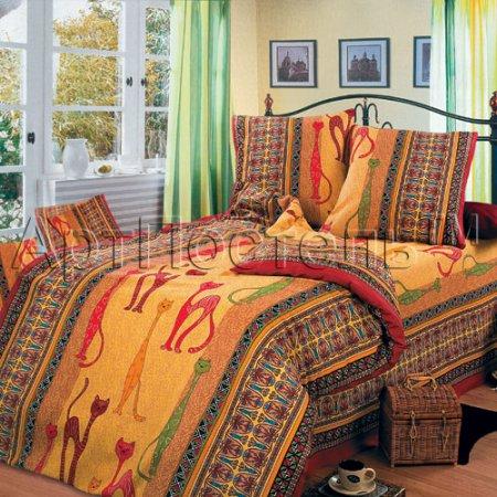 «Кошки» 1,5 - спальное постельное белье, Бязь, Арт Дизайн