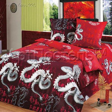 Постельное белье «Легенда дракона» 1,5 - спальное, Бязь, Арт Дизайн