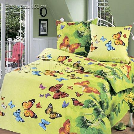 Постельное белье «Липовый цвет» 1,5 - спальное, Бязь, Арт Дизайн