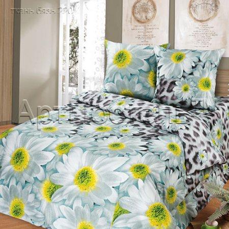 «Мягкий сон» 1,5 - спальное постельное белье, Бязь, Арт Дизайн