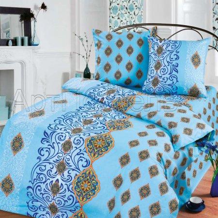 «Небесная глазурь» 1,5 - спальное постельное белье, Бязь, Арт Дизайн