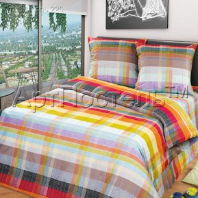 «Палитра» семейное постельное белье, БЯЗЬ, Арт Дизайн