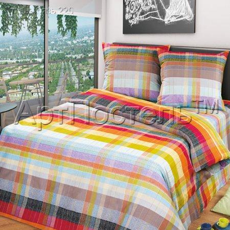 «Палитра» двуспальное постельное белье, Бязь, Арт Дизайн