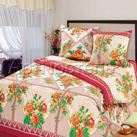 «Павловские мотивы» семейное постельное белье, Бязь, Арт Дизайн