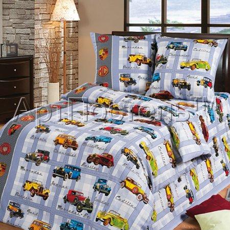 «Ретро» 1,5 - спальное постельное белье, Бязь, Арт Дизайн