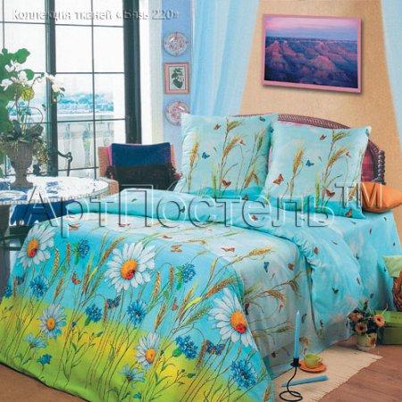 Постельное белье «Русское поле» семейное, Бязь, Арт Дизайн