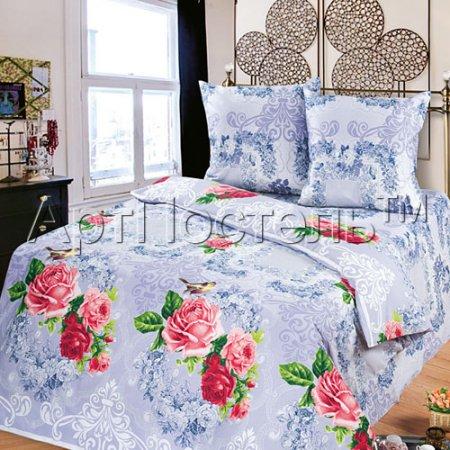 «Серебро» семейное постельное белье, Бязь, Арт Дизайн