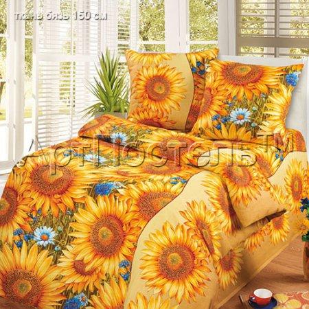 Постельное белье «Солнышко» 1,5 - спальное, Бязь, Арт Дизайн