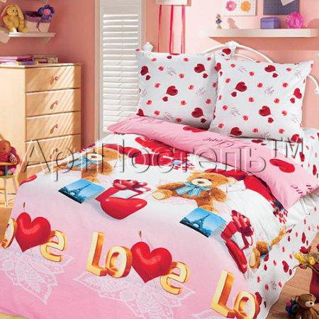 «Сюрприз» 1,5 - спальное постельное белье, Бязь, Арт Дизайн
