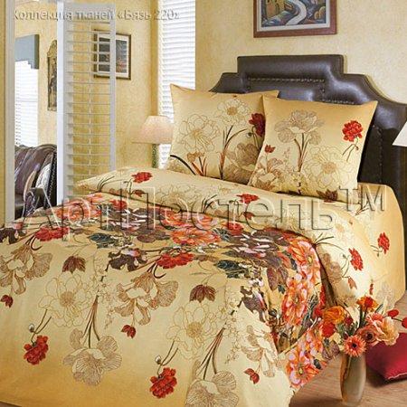 «Тайна» двуспальное с европростыней постельное белье, Бязь, Арт Дизайн