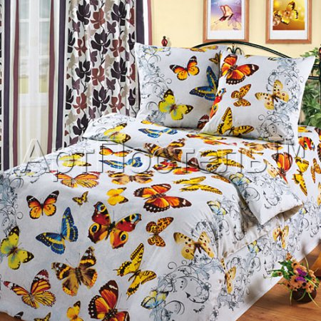 Постельное белье «Ванесса» 1,5 - спальное, Бязь, Арт Дизайн