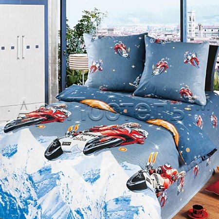 «Вираж» 1,5 - спальное постельное белье, Бязь, Арт Дизайн