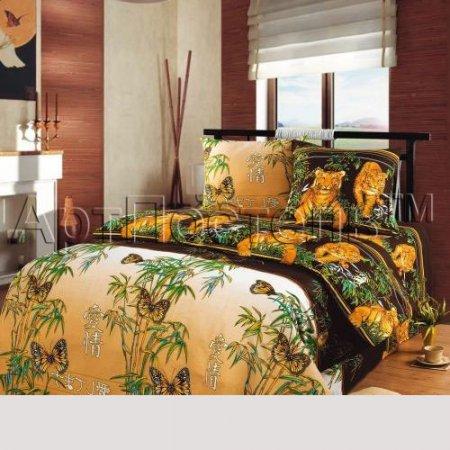 Постельное белье «Восточная ночь (бежевый)» двуспальное, Бязь, Арт Дизайн