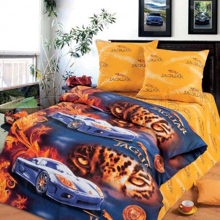 «Ягуар» 1,5 - спальное постельное белье, Бязь, Арт Дизайн
