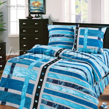 Постельное белье «Иллюзия» 1,5 - спальное, Бязь, Арт Дизайн